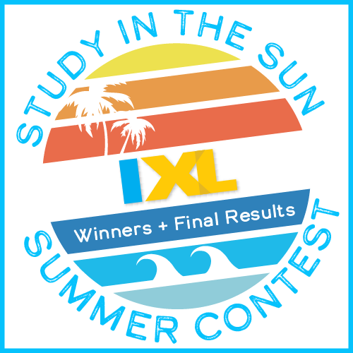 IXL Study in the Sun Contest 2018 Winners