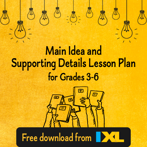 What's the Main Idea: Free ELA Lesson Plan for Grades 6-8