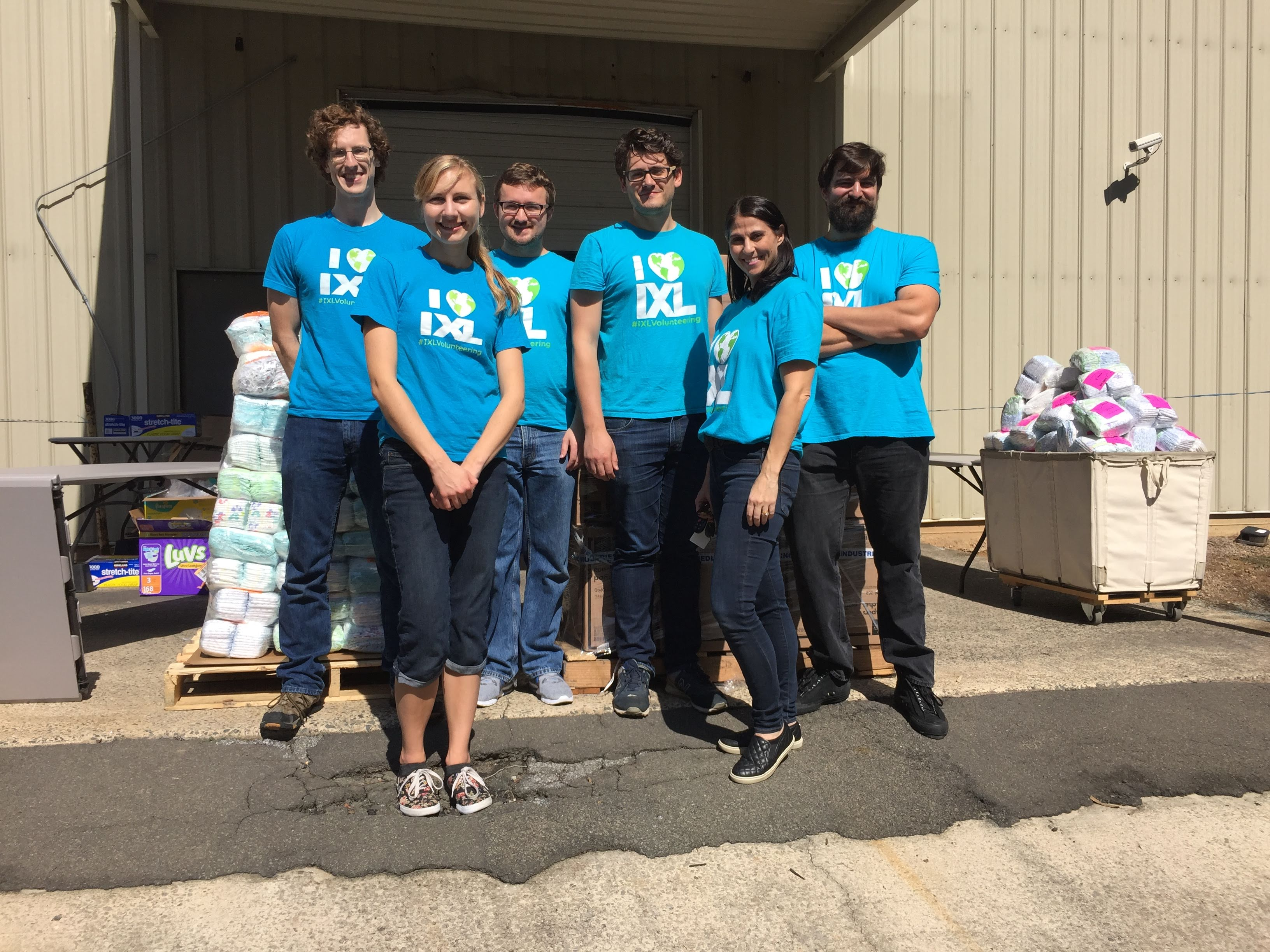 Diaper Duty: IXLers Volunteer at the Diaper Bank of NC