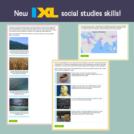 It's history in the making: new social studies skills have arrived!