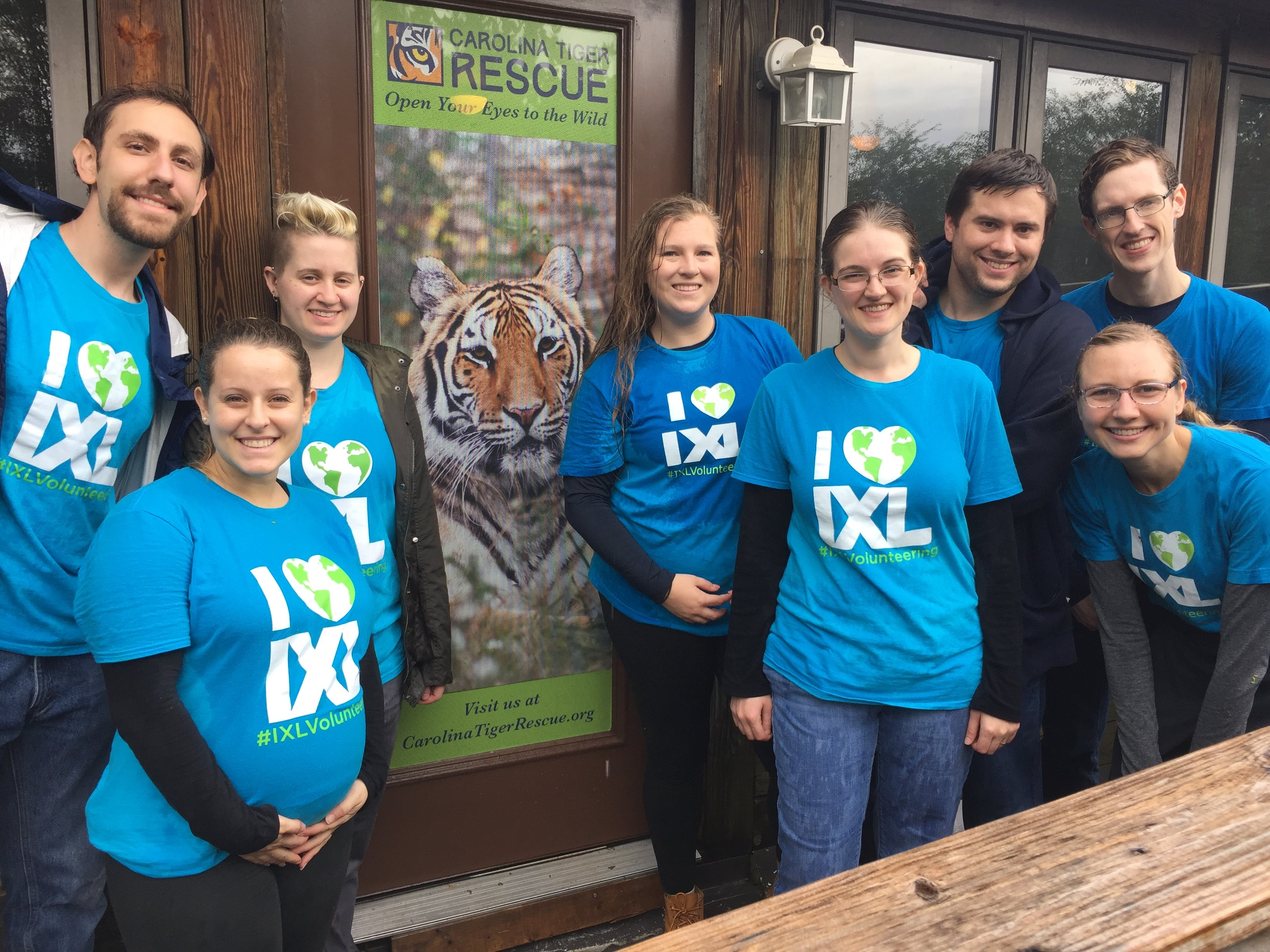 Earning Their Stripes: IXLers Volunteer at the Carolina Tiger Rescue