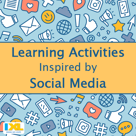 Learning activities Inspired by Social Media