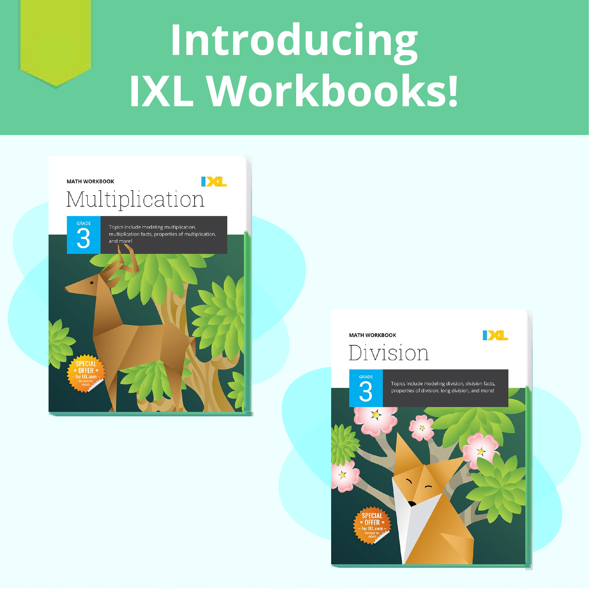 Introducing IXL workbooks