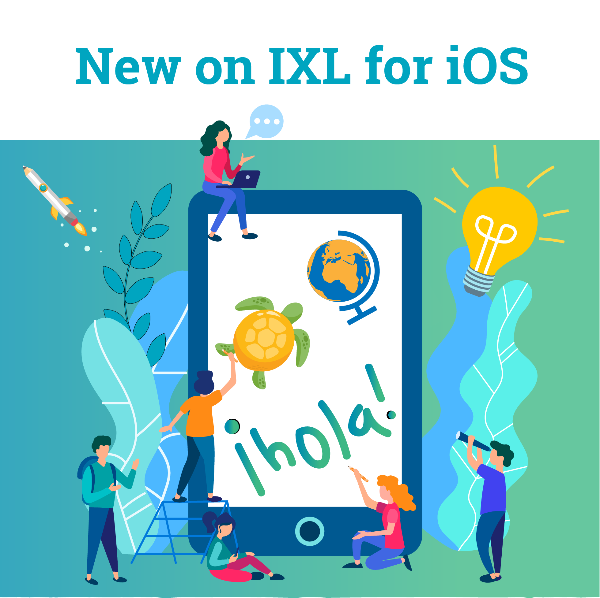 Exciting updates to IXL for iOS