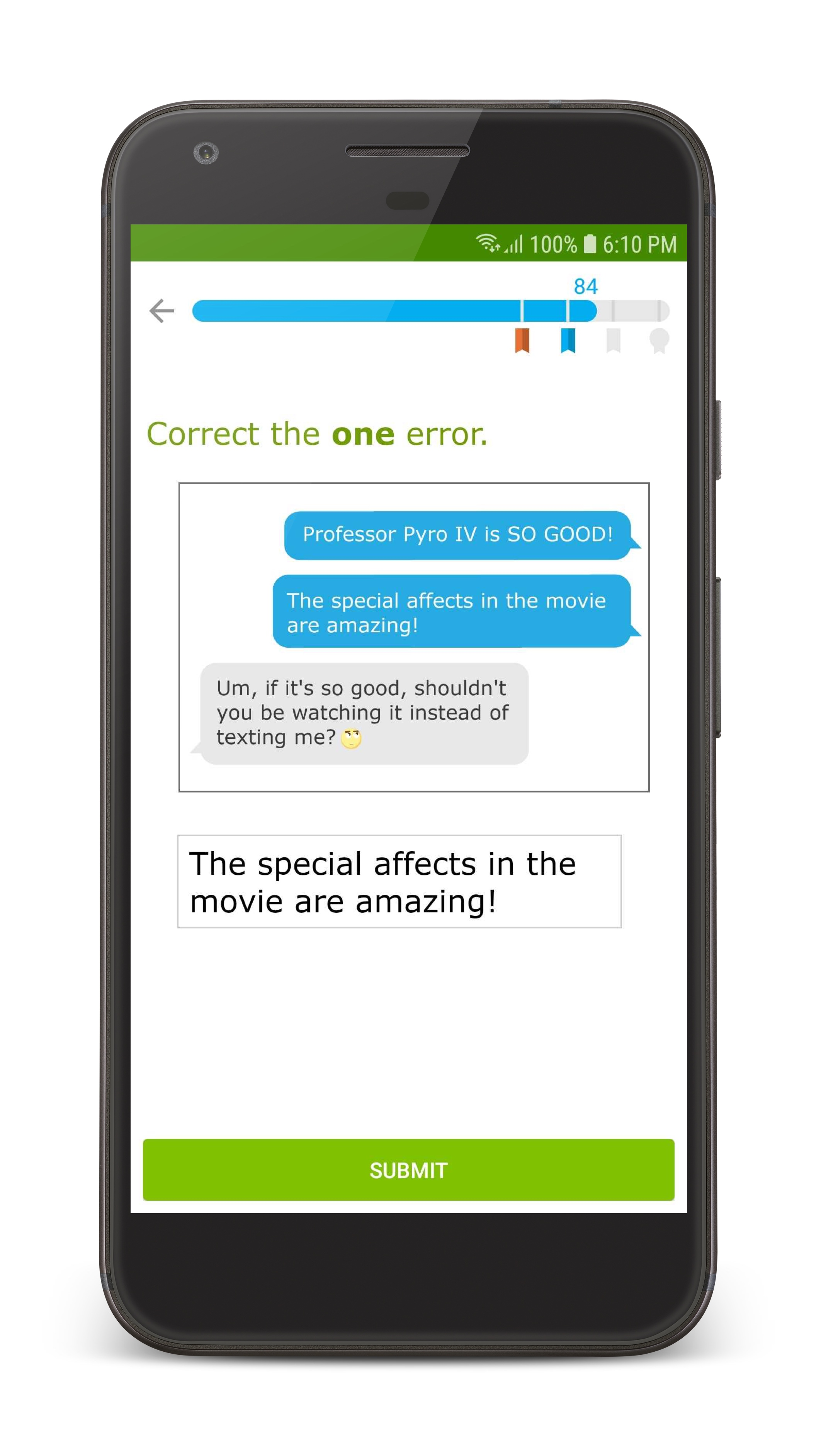 Android users rejoice! The IXL app is now available for Android phones