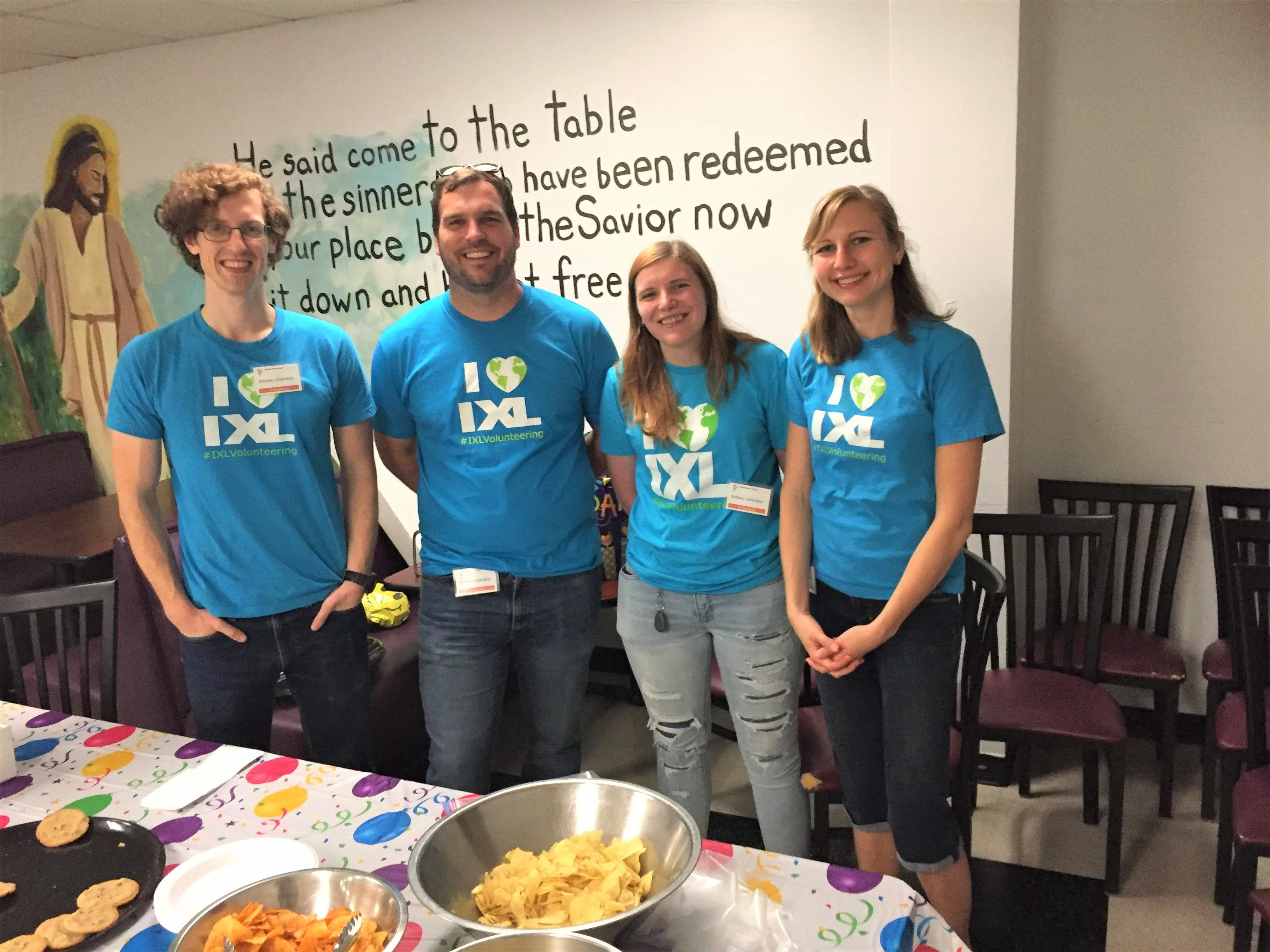 Many Happy Returns: IXLers Celebrate August Birthdays at the Raleigh Rescue Mission