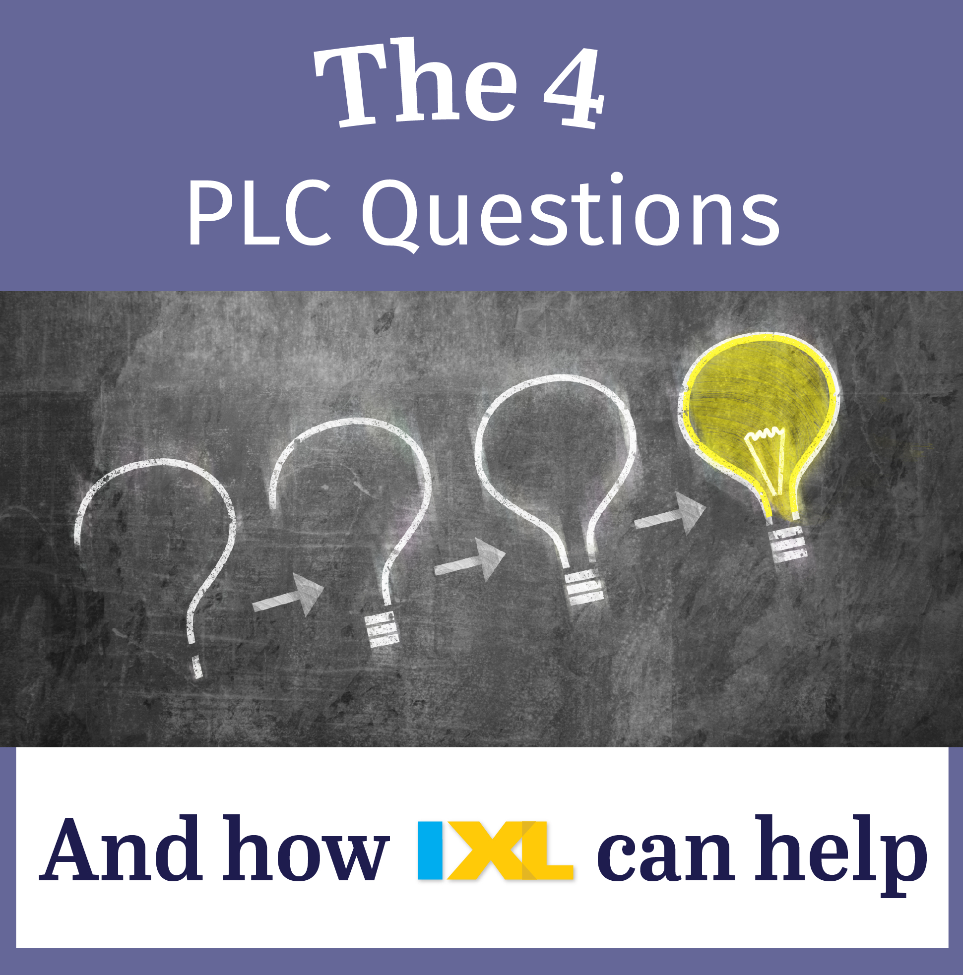 Answering the 4 critical PLC questions