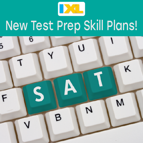 SAT prep: IXL's Reading and Writing Skill Plans