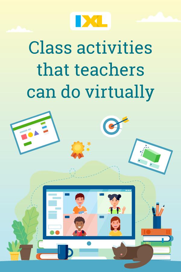 Class activities that teachers can do virtually