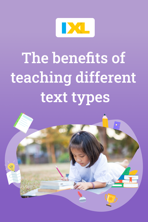The benefits of teaching different text types Pinterest