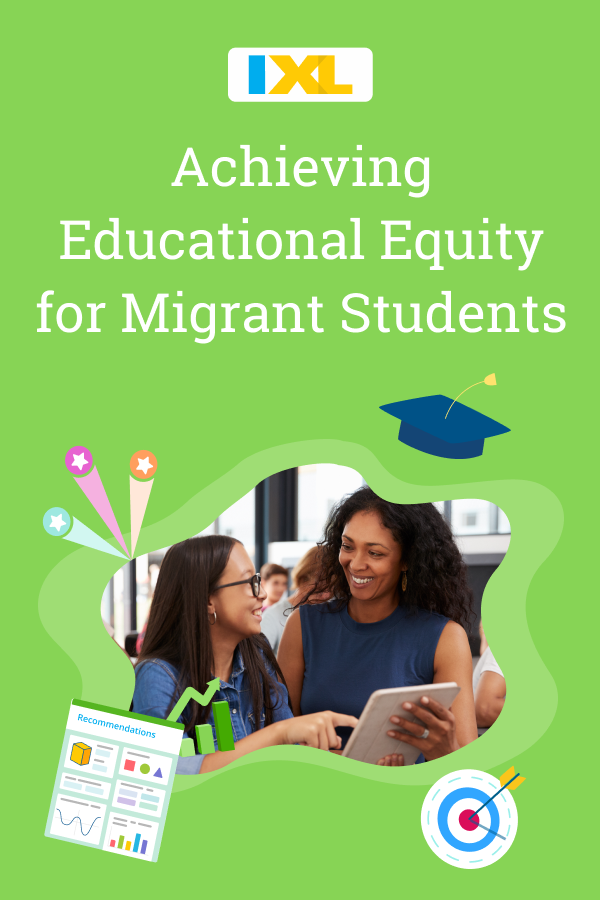 Achieving Educational Equity for Migrant Students Pinterest image